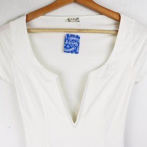 Free People Tops - NWT Free People Deep Conversation Bodysuit X Small